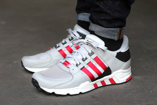 ONFEET Adidas EQT Support RF White Camo Turbo Red. Cheap EQT